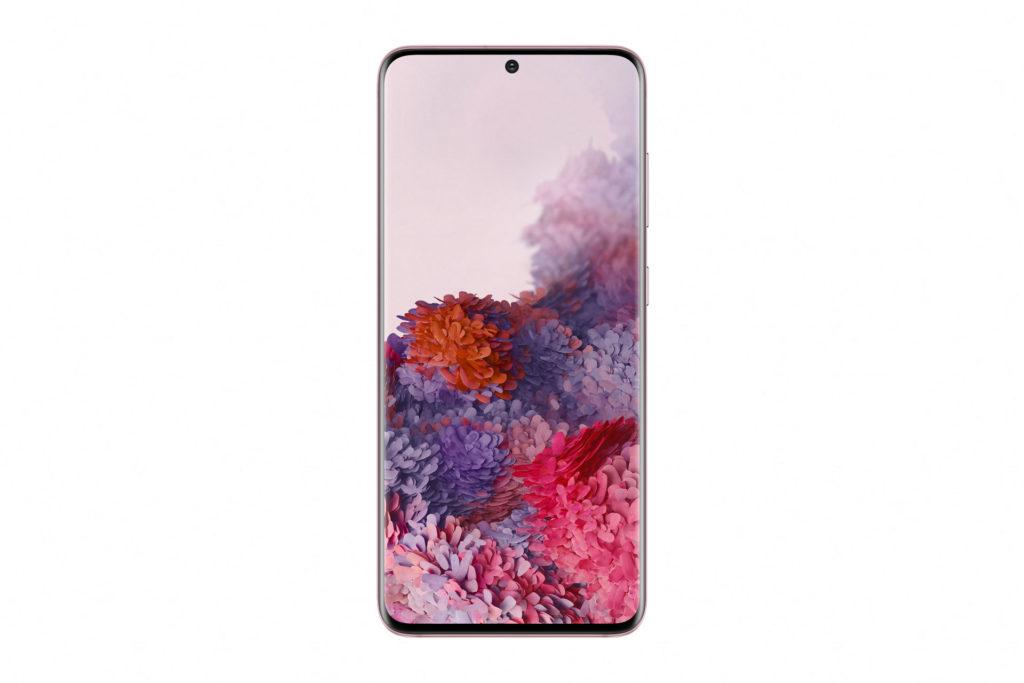 Samsung Galaxy S20 Pink