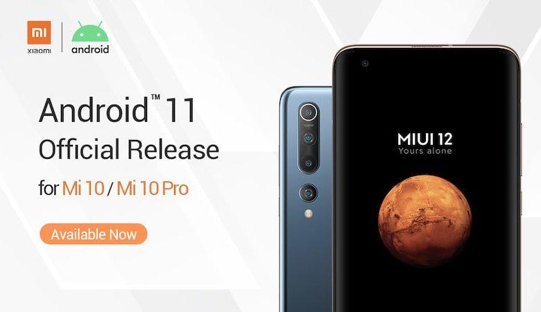 Xiaomi Mi 10 Android 11 Update